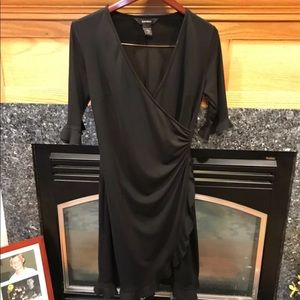 Lightweight black Express dress